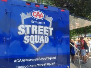 caa street squad, marketing, experiential,