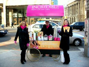 experiential, marketing, portable, streets, toronto, victoria's secret, popup, sampling