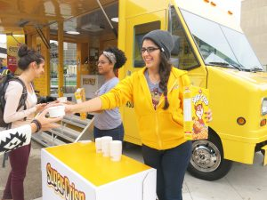 experiential, marketing, mobile, promotion, truck, brand ambassador, sampling, food